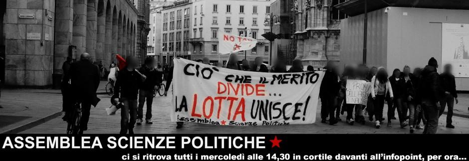 Collettivo Scienze politiche – Milano